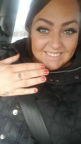 *tw* proud mummy baby loss ring, lock of hair ring memorial, funds raised for ~Olivia's Charity Ball x