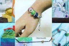 customer own photo with retired faceted style charms with wrapscraps